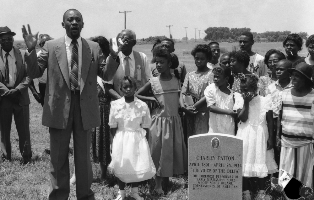 Charley Patton's Grave: More than a Memorial in Holly Ridge