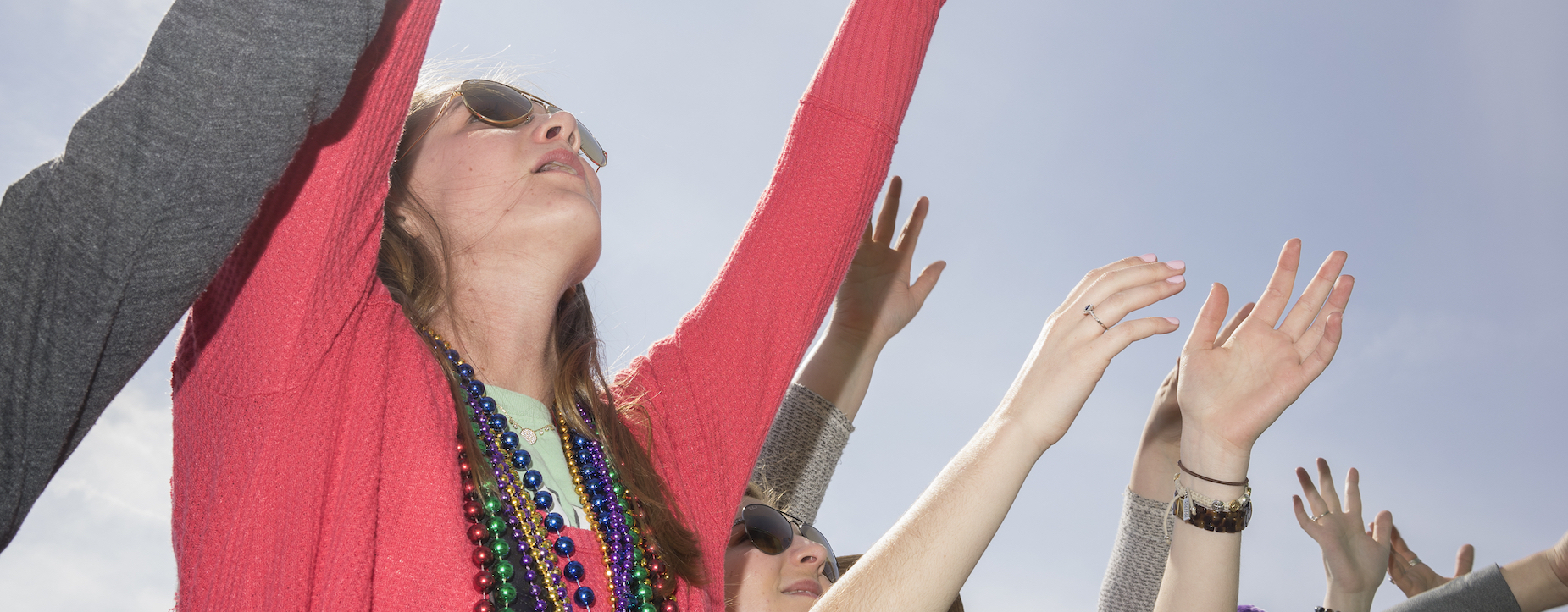 Gulf Coast Mardi Gras: Tammy Mercure at the 85th Pass Parade
